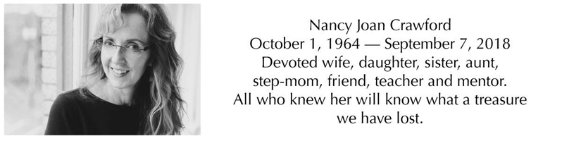 Nancy Crawford Passing